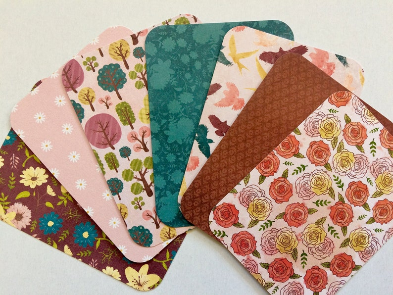 14 Boho Fall Journal Cards  3x4 Cozy Home Journal Note Cards Journal Cards Only