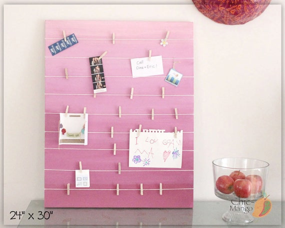 wall art teen girls room bulletin board gift for girl. Black Bedroom Furniture Sets. Home Design Ideas