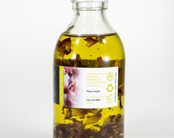 EARTH MOTHER  Fragrance free body massage oil.