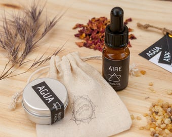 AIRE & AGUA Elements travel and sample kit