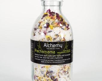 PACHAMAMA Detoxifying Bath Salts with Wild Flowers