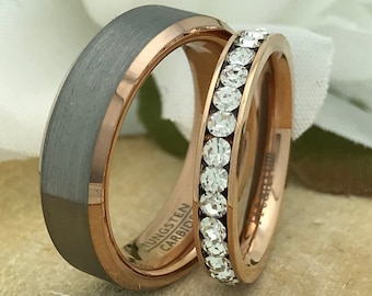 Custom Tungsten Rings