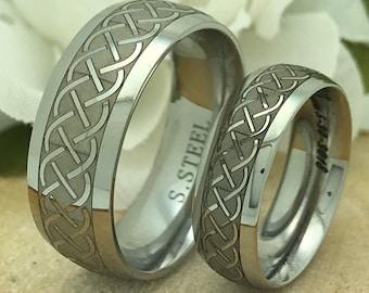 Custom S. Steel Rings