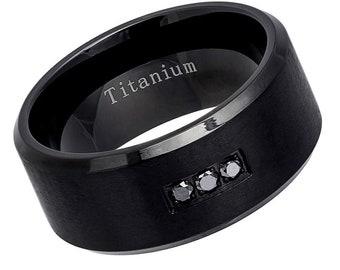 Titanium Eternity Band