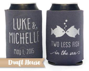 Two Less Fish in the Sea, Beach Wedding, Wedding Favors, Two Less Fish Favors, Engagement Party, Rehearsal Dinner, Couples Shower Favors
