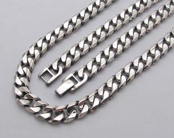 PP2808-50  Pendant 50cm 84.6g  Sterling Silver 925 oxidized