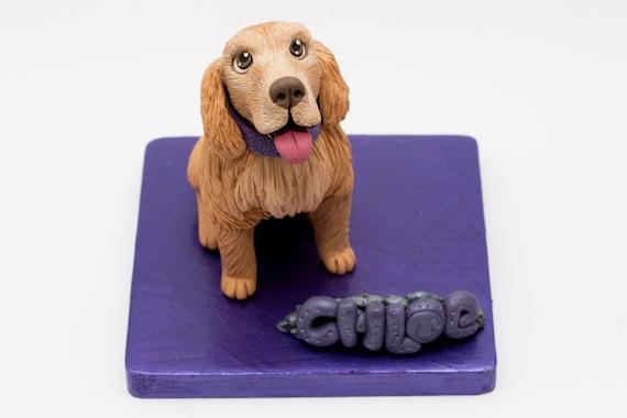 Spaniel Personalised Cake Topper