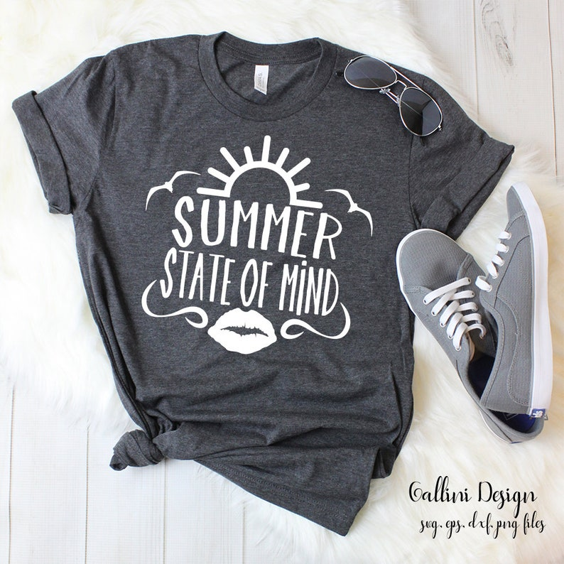 Summer State of Mind Svg Beach Svg Summer Svg Beach Svg Summer Vacation Svg Vacay Svg Png Dxf Files Sunshine Svg Silhouette Cricut Designs
