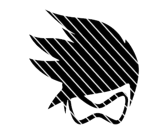 Overwatch Inspired Tracer- SVG file