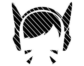 Overwatch Inspired DVA - SVG file