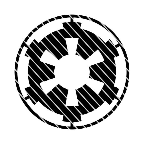 Star Wars Galactic Empire Symbol Svg File Etsy