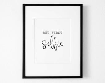 Selfie Quote Etsy