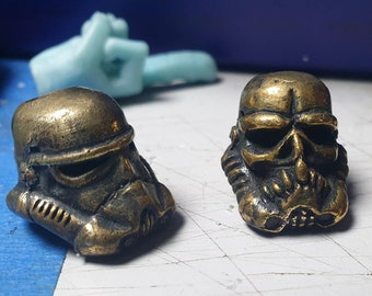 storm trooper brass bead