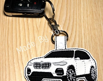 grey Reskey E30 3 Key Ring 316 318 320 323 325 M3 Tuning