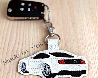 AUTOGIFTS Key Chain Logo Keyring For MUSTANG