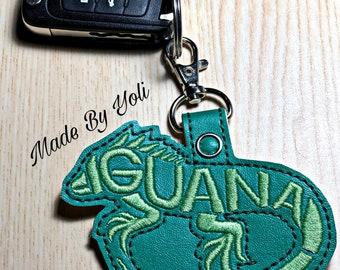 Details about  /W11 ONE Iguana Lizard Foot paw KEY CHAIN NATURAL Witch Wicca talisman keychain