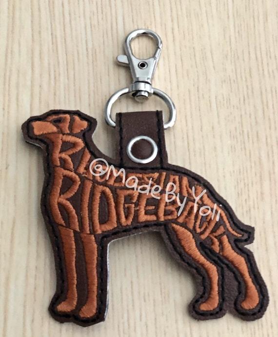 Rhodesian Ridgeback Key Ring