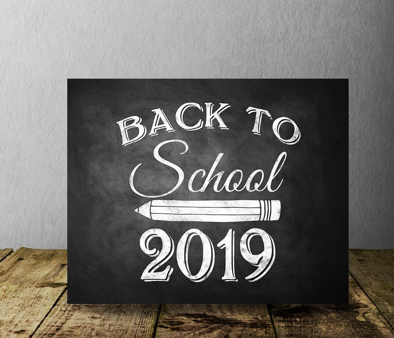 image relating to Chalkboard Printable named Again in the direction of College or university 2019 Chalkboard Printable Indication, Printable Electronic Photograph Prop, Initially Quality Chalkboard, Back again toward University, Very first Working day of Higher education