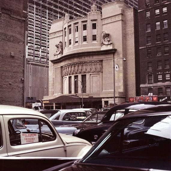63 64 Ziegfeld Theater Nyc Cinema Film 6th Avenue Broadway 141 Etsy