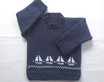 7f2b7e2fef2e Boys knit sweater