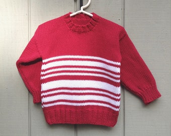 b667d5d56 4 year red sweater