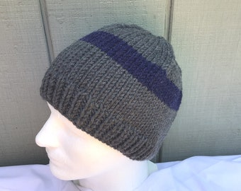 Made in England. Mens Ladies Wool Mix Beanie Hat With Scarf Gift Sets