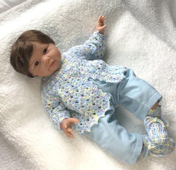 Newborn baby set Rainbow baby coat and