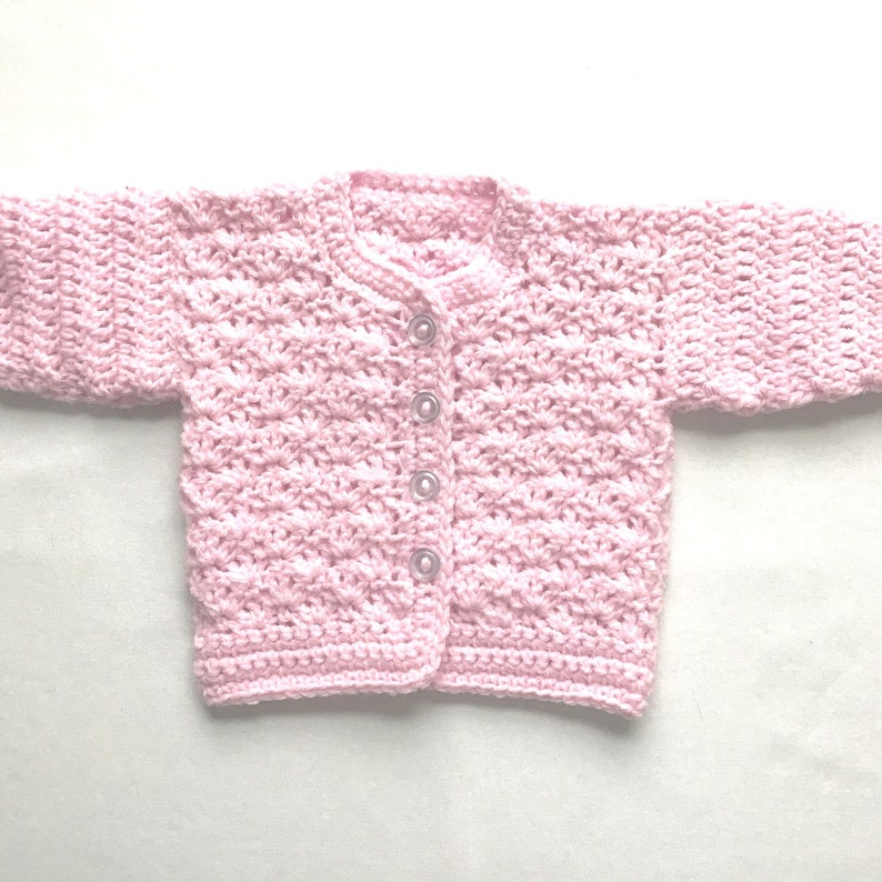 ba27da48c Baby girl pink outfit 0 to 4 months Baby girl sweater set | Etsy