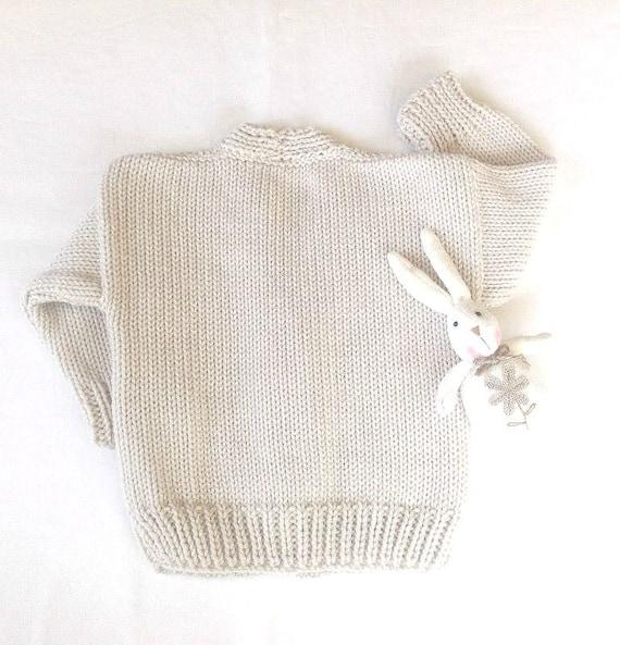 Niños Aran punto de la ropa de bebé tejida a mano de Rebeca | Etsy