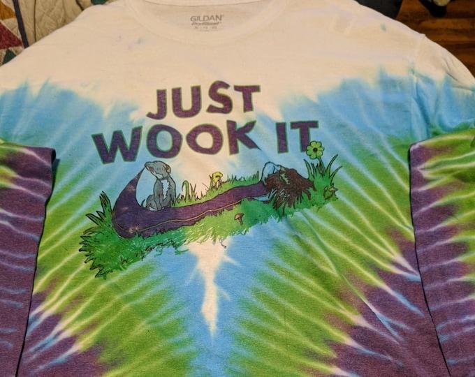 Just Wook It Long Sleeve Tie Dye