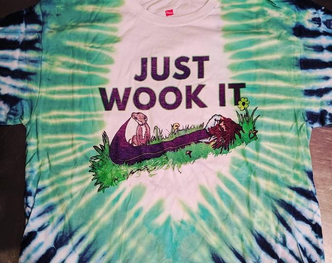 Just Wook It Tie Dye Tee