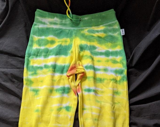 Ladies XSmall Tie Dye Lounge Fleece Pants