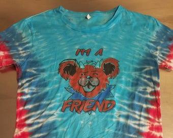 I'm a Friend Bear Tie Dye