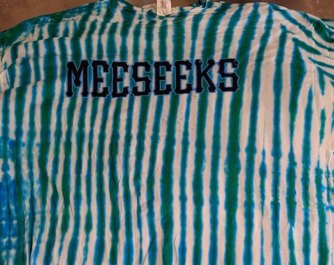 Team Meeseeks Jersey Tie Dye
