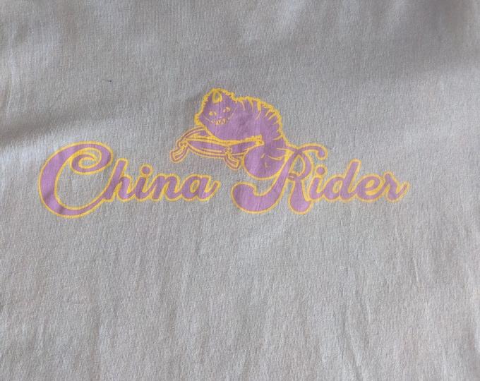Grateful Cheshire China Rider  Tie Dyed Tee