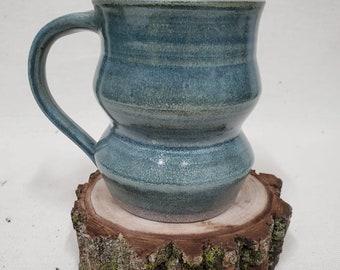 Pottery mug - handmade mug - coffee cup - coffee mug - tea cup - cottage decor - large coffee cup - handmade pottery mug