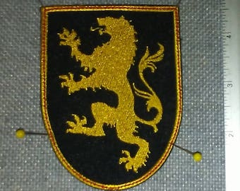 House Lannister Embroidered Patch