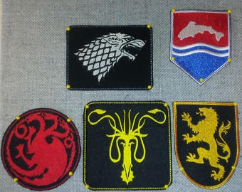 Game of Thrones Patch Collection