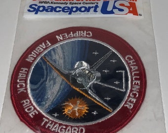 UARS STS-48 NASA enamel PIN /& PATCH PAIR vtg Space Shuttle Discovery