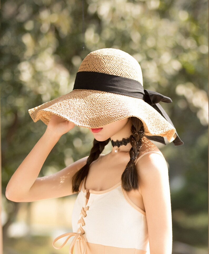 straw hat beach hat fashion trends Fashion accessories womens hats summer hat summer hats women fedora hat summer outfits straw cap