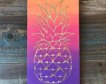 Sign, Pineapple Sign