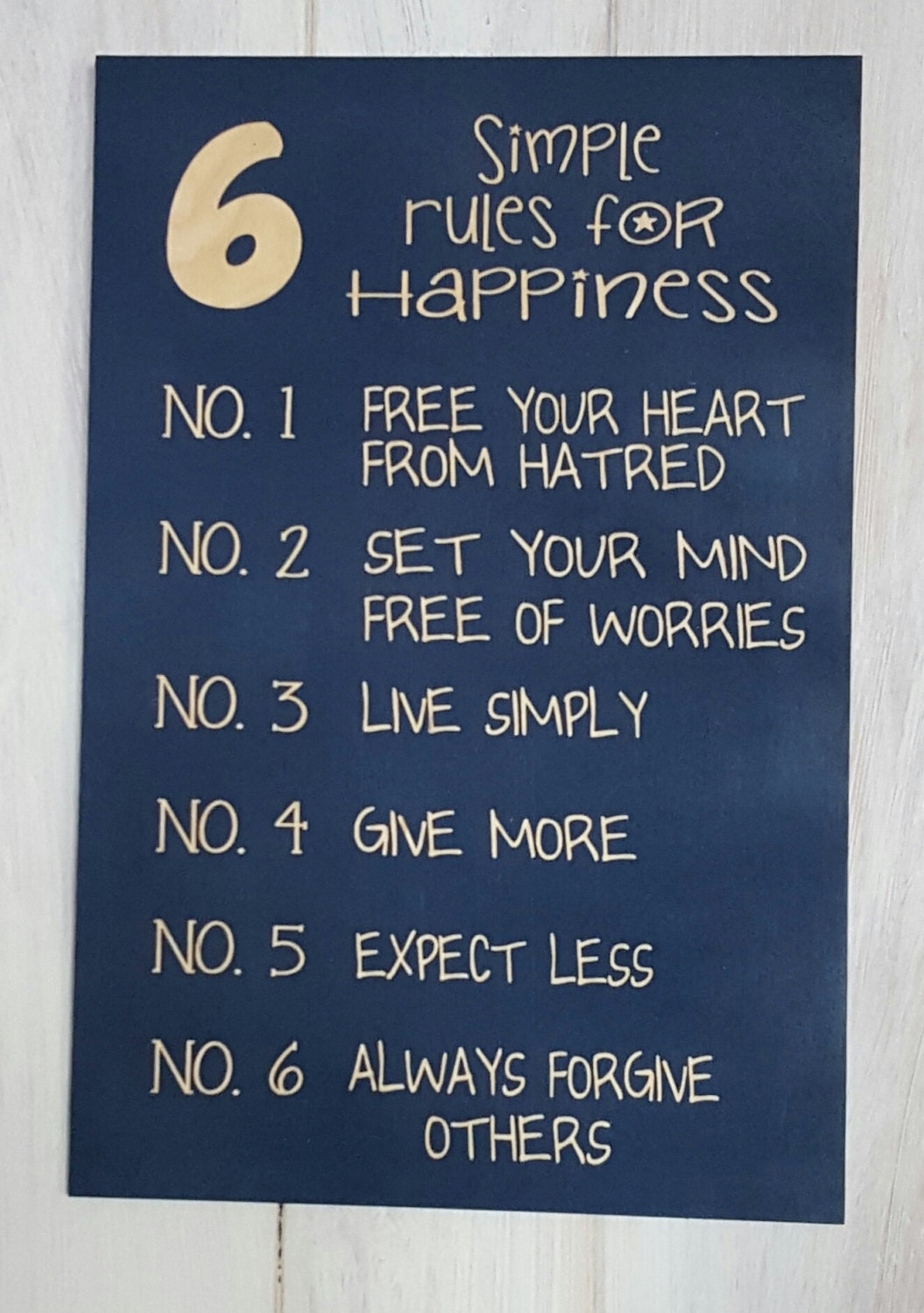 simple rules for happiness