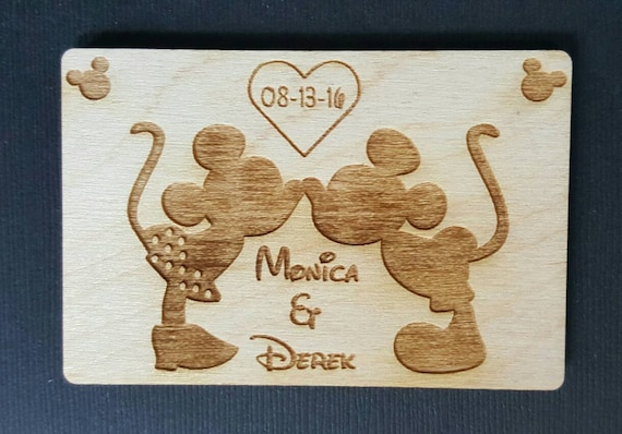 Wedding Favor 10 Mickey and Minnie Mouse Wedding Favor