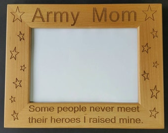 Picture Frame, Army, Navy, Marine, Air Force, Coast Guard, National Guard, 5x7 Frame