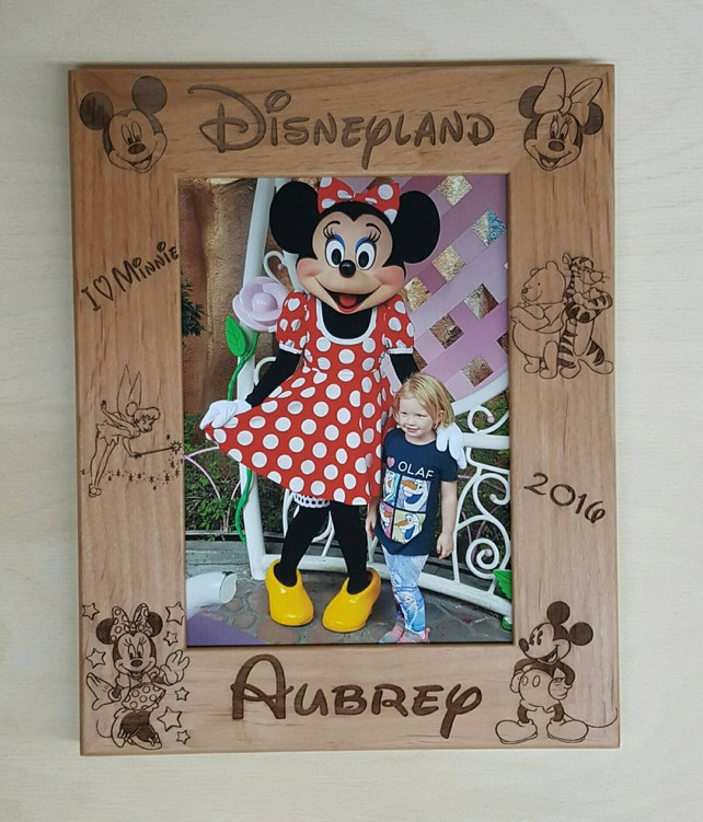 Bilderrahmen Disneyland Mickey und Minnie Mouse 5 x 7 Custom | Etsy