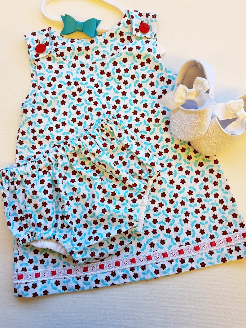 Christmas Special Summer Sale Lower Price with Handmade Baby Dress Size 00 Cotton