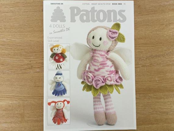 Patons Heft Puppen Smoothie. Strickmuster. URSPRÜNGLICHE | Etsy