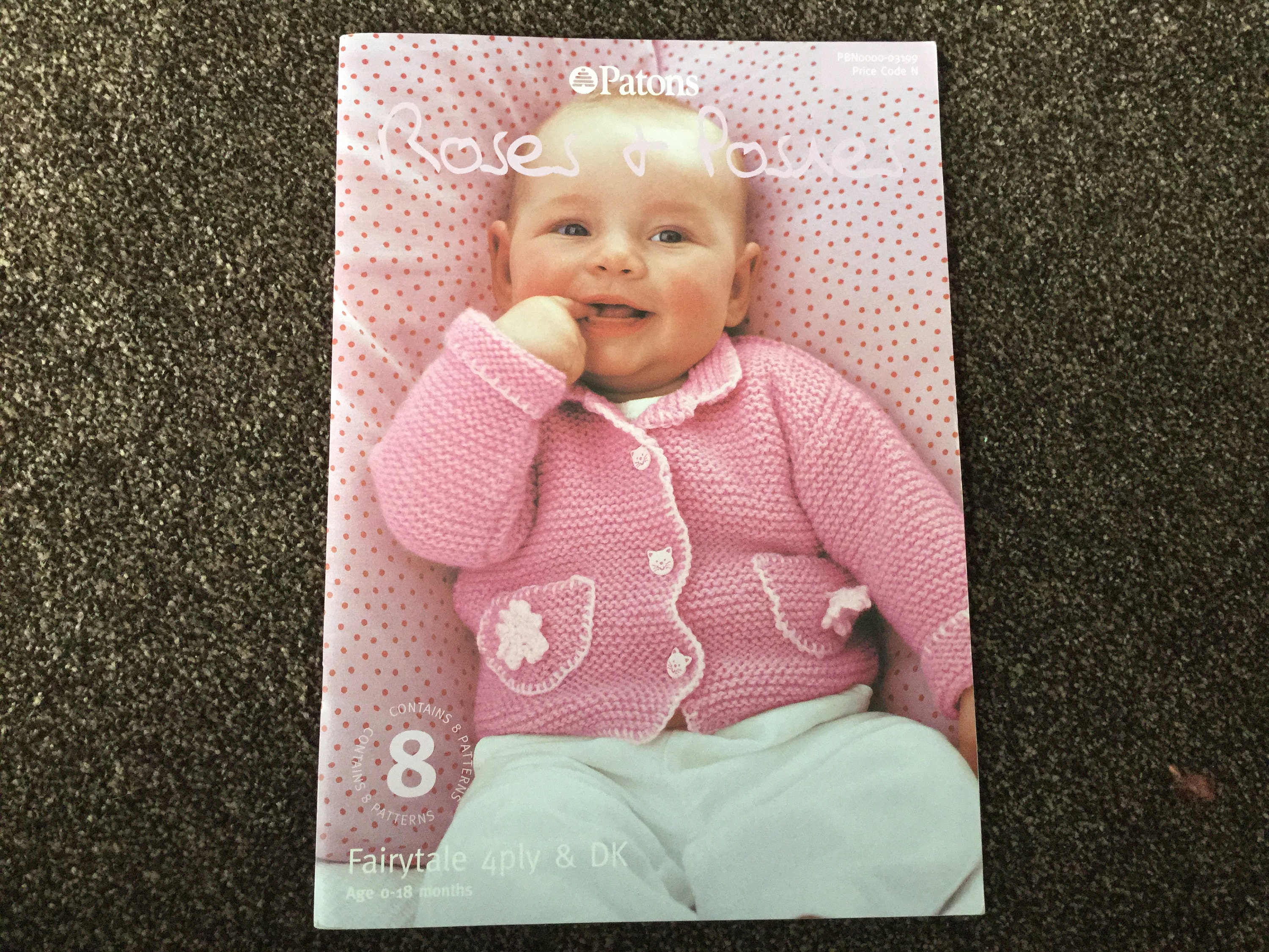 Baby Knitting Patterns Booklet Patons 4 Ply And Dk Yarn 0 18 Etsy