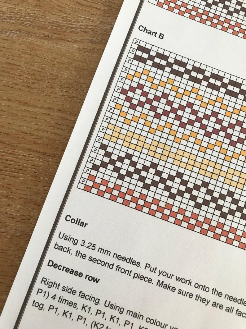 Tea cosy Fair Isle knitting pattern. PDF download. | Etsy