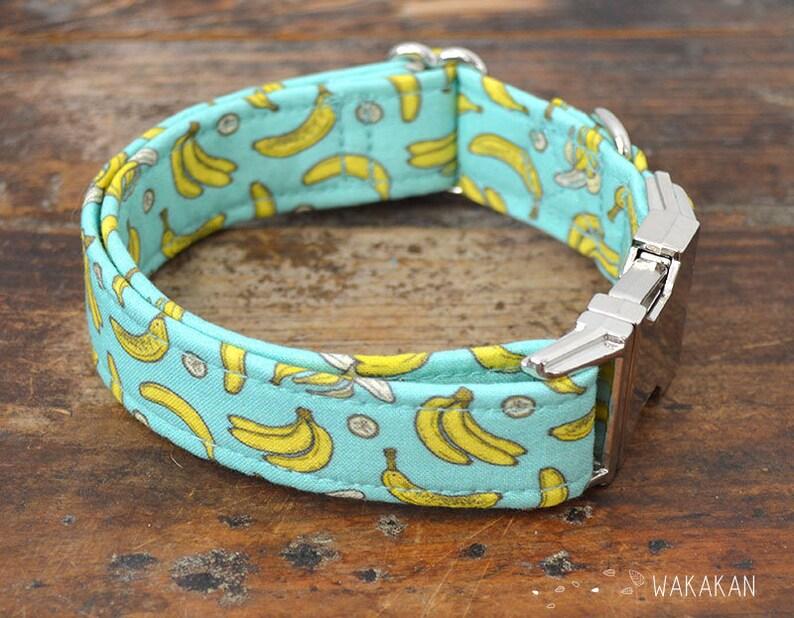 95ead06082c5 Collar para perro Going Bananas ajustable. Hecho con tela